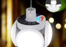 meilleure lampe de camping solaire