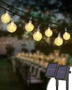 meilleures lampes solaires à boules