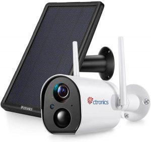 meilleure caméra de sécurité solaire