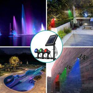 meilleure lampe solaire pour bassin
