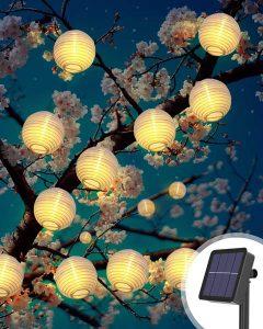 meilleurs lampions solaires